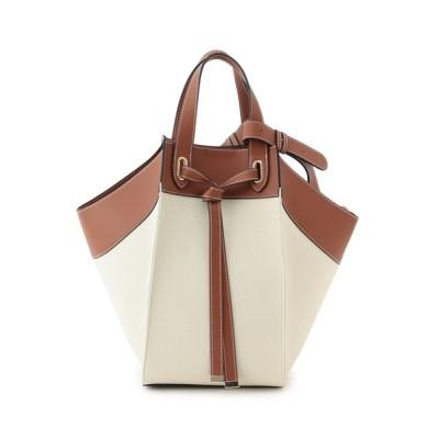 ViS / 【A4対応】【マルチWAY】コットンコンビフロントタイバッグ(ラージ) WOMEN バッグ > ショルダーバッグ