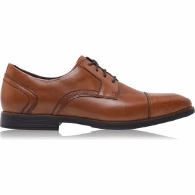 ロックポート Rockport レディース ローファー・オックスフォード シューズ・靴 Slayter Cap Toe Blucher Oxford Shoes Cognac