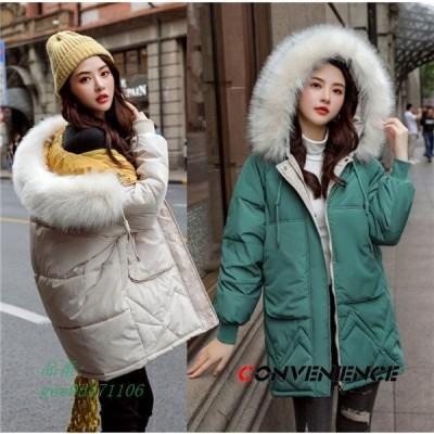 中綿ジャケット レディース 大きいサイズ ゆったり フード付き 裏起毛 おしゃれ ブルゾン 防寒着 厚手 暖かい 冬服 防風 中綿ダウンコート 裏ボア 保温