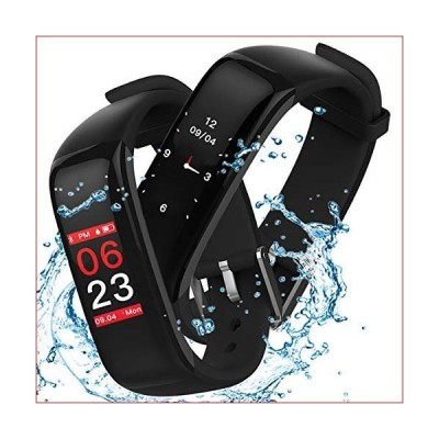 Fitness Tracker Hamshine,Smart Fitness Watch with Blood Pressure Monitor,Activity Tracker with Heart Rate Monitor Sleep Monitor,IP67 Waterpr