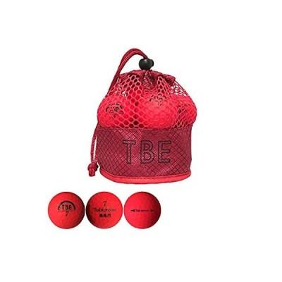 飛衛門 TOBIEMON ボール メッシュバッグ入り 蛍光マットボール 3ダースセット 3ダース(36個入り) レッド