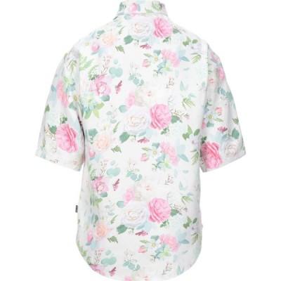 ヌーン グーンズ NOON GOONS メンズ シャツ トップス patterned shirt White