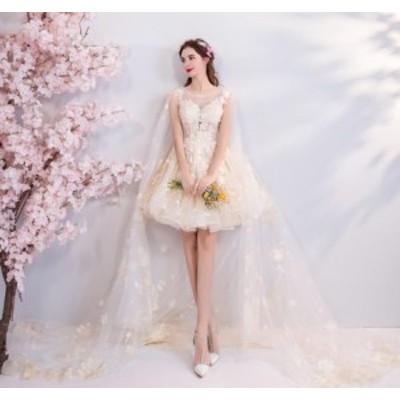 パーティードレス 結婚式 ドレス 大人 ピアノ 記念日 イベント 着やせ パーティー シンプル レディース 不規則ワンピース