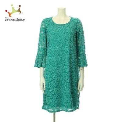 タセラ TACERA ドレス サイズS(M 9号) レディース 新品未使用 グリーン系 カクテルドレス   スペシャル特価 20200829