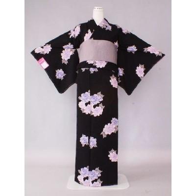 着物 仕立上り着物 着物 仕立上り着物 仕立上り ポリエステルの着物 送料無料 すぐ着用できる安いきもの  Mサイズ U8769-04