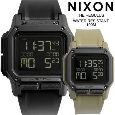 NIXON ニクソン REGULUS レグリス 腕時計 メンズ ラバーベルト ウォッチ クオーツ 日常生活防水 デジタル A1180001-00 A11802711-00