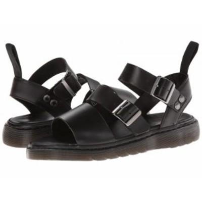Dr. Martens ドクターマーチン メンズ 男性用 シューズ 靴 サンダル Gryphon Strap Sandal Black Brando【送料無料】