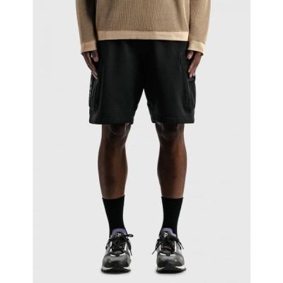 ストーンアイランド Stone Island Shadow Project メンズ ショートパンツ ボトムス・パンツ mesh pocket shorts Black