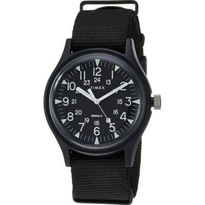 タイメックス Timex メンズ 腕時計 MK1 Aluminum 3-Hand Black/Black