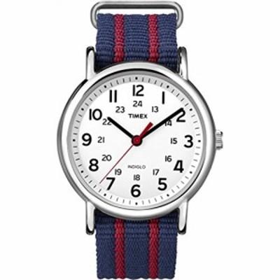 腕時計 タイメックス メンズ Timex Men's T2N747KW Weekender Slip Through Strap Watch