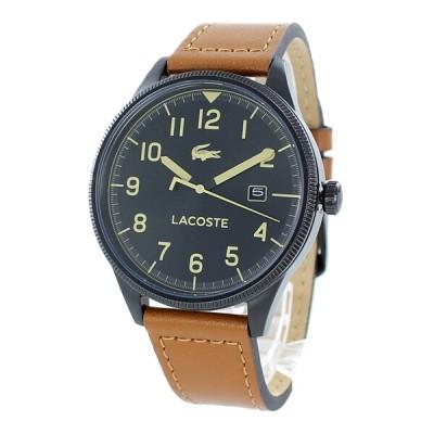 LACOSTE ラコステ 時計 メンズ 腕時計 ブラック ブラウン レザー 革 とけい 2011021