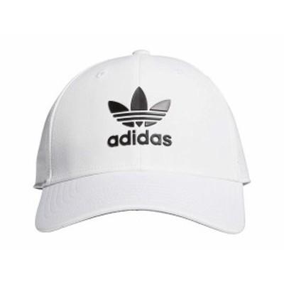 アディダス メンズ 帽子 アクセサリー Originals Beacon II Precurve Snapback White/Black 2