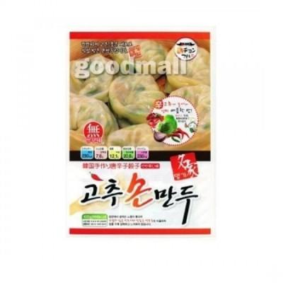 *韓国食品*【クール便・冷凍】名家 唐辛子 手餃子 420g 【代引不可】