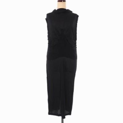 【中古】未使用品 アンドゥムルメステール 19SS ノースリーブ ドレス ワンピース 38 黒 1901-2480-234-099 レディース