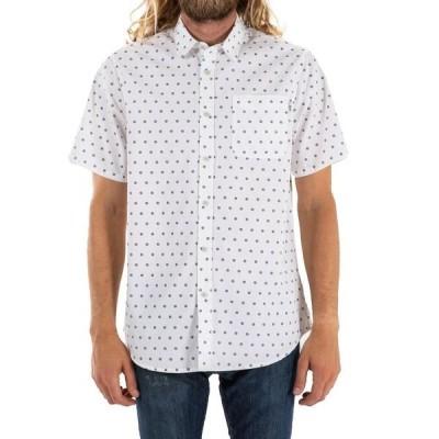 ケイティン メンズ シャツ トップス Katin Mission Short-Sleeve Shirt White