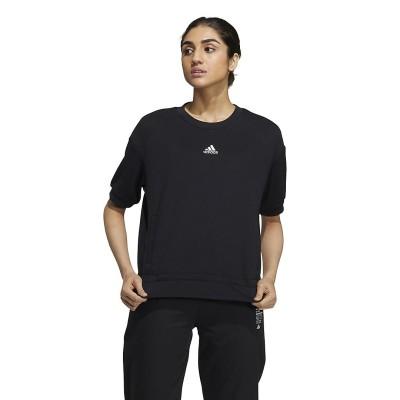 adidas (アディダス) W TECH TEXTURE TEE XL~ . レディース 54424 GP0716
