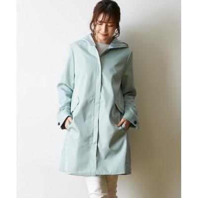 花粉が落ちやすい♪フード付コート(防花粉・撥水・防汚) (コート)(レディース)Coat