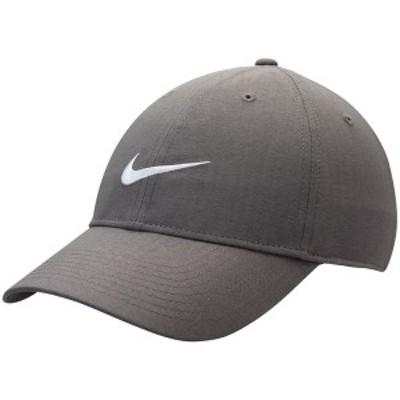 ナイキ メンズ 帽子 アクセサリー Nike Golf L91 Tech Performance Adjustable Hat Anthracite