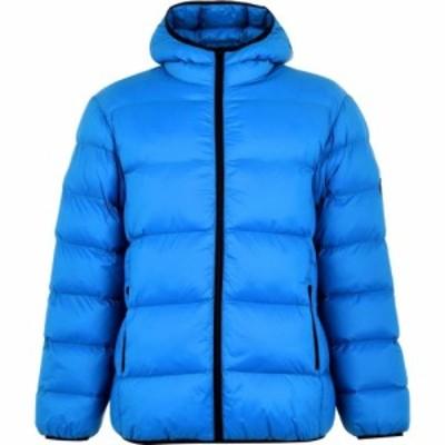 パッファ Puffa メンズ ダウン・中綿ジャケット アウター Microbubble Jacket Blue