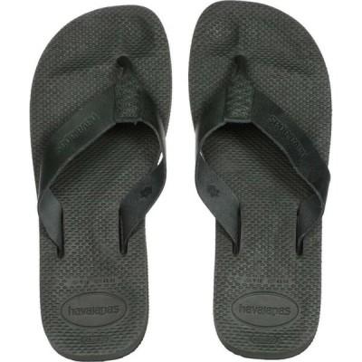 ハワイアナス Havaianas メンズ ビーチサンダル シューズ・靴 Urban Special Flip-Flops Olive Green