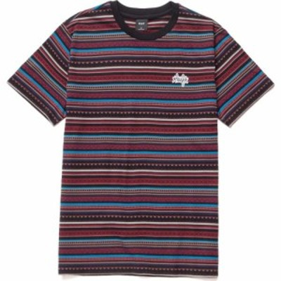 ハフ Huf メンズ シャツ トップス topanga knit shirt Navy Blazer
