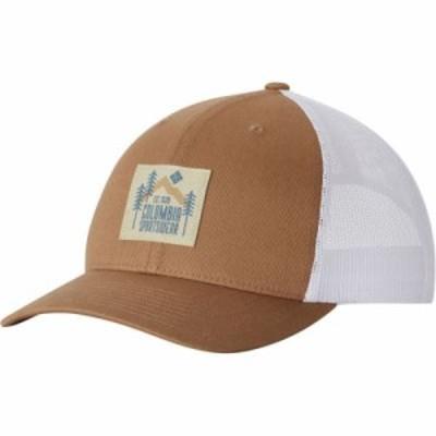 コロンビア キャップ Mesh Snapback Hat Delta Evergreen Patch