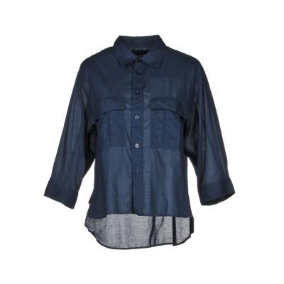 ブラウアー BLAUER シャツ ダークブルー L コットン 100% シャツ