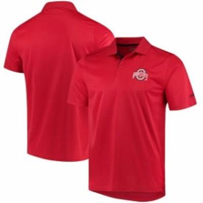 J America Sportswear ジェイ アメリカ スポーツウェア スポーツ用品  Ohio State Buckeyes Scarlet Spector Polo