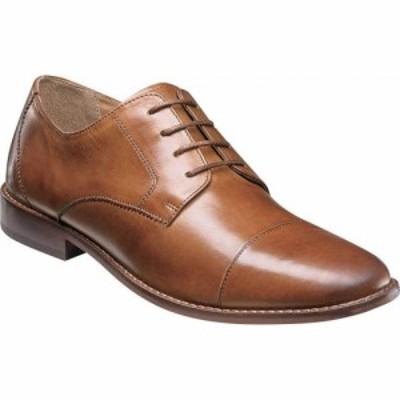 フローシャイム Florsheim メンズ 革靴・ビジネスシューズ シューズ・靴 Montinaro Cap Toe Oxford Saddle Tan Smooth Leather