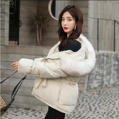 学生 希少 通学 上質コート 韓国風 レディース ショート丈コート 中綿ジャケット 上着 カジュアル 防寒 防風 OL 通勤 暖かい アウター