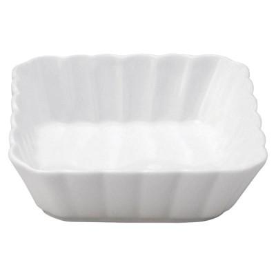 美濃の和食器 花伝かすみ 白 11cm浅角鉢