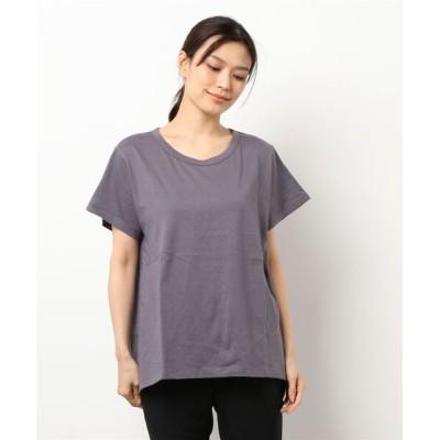 tシャツ Tシャツ バックレースTシャツ