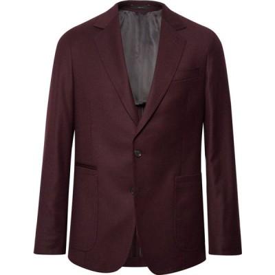 ポールスミス PAUL SMITH メンズ スーツ・ジャケット アウター blazer Maroon