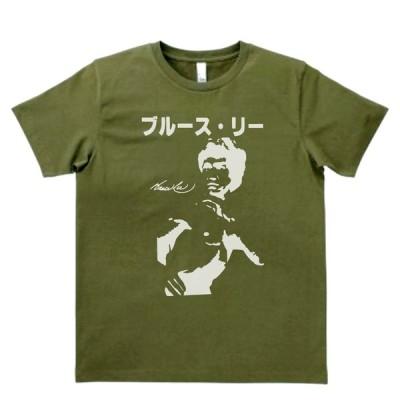 バンド ロック Tシャツ カタカナ ブルース・リー カーキー MLサイズ