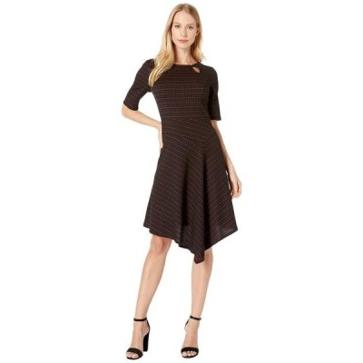 ナネットレポー レディース ワンピース トップス Asymmetric Dress