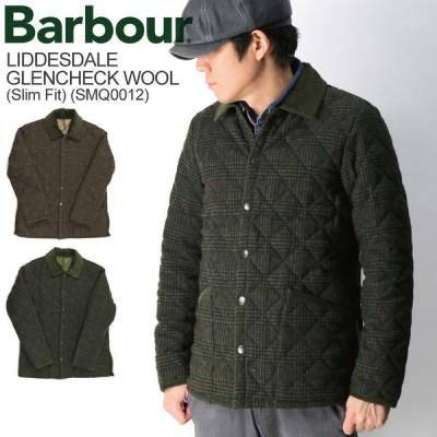 (バブアー) Barbour LIDDESDALE SL WOOL CHECK リッズデール SL ウール チェック キルティング ジャケット メンズ レディース