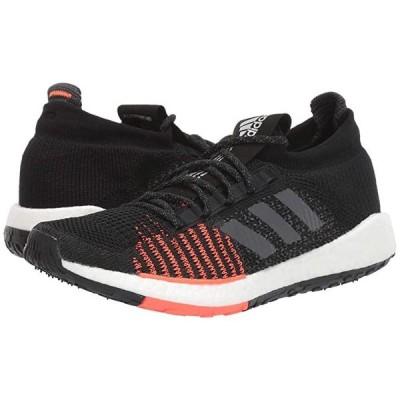 アディダス PulseBOOST HD メンズ スニーカー 靴 シューズ Core Black/Grey Five/Solar Red