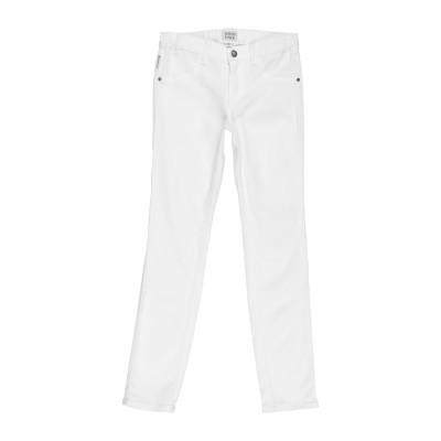 ARMANI JUNIOR パンツ ホワイト 7 レーヨン 47% / コットン 31% / テンセル 20% / ポリウレタン 2% パンツ