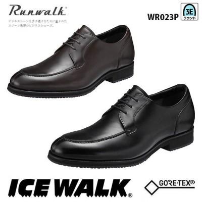 ランウォーク メンズ ビジネスシューズ アイスウォークソール ゴアテックスファブリクス 3E WR023P asics アシックス Runwalk 靴
