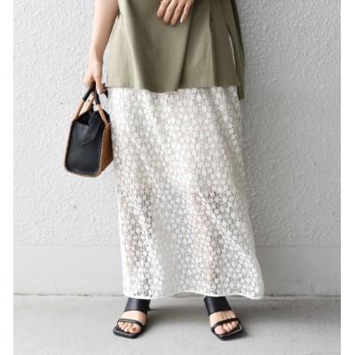 【シップス/SHIPS】 【SHIPS別注】Pheeta:レーススカート