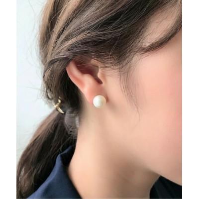 wears / 【10mm】 選べるパールピアス (コットンパール / アクリルパール) WOMEN アクセサリー > ピアス(両耳用)