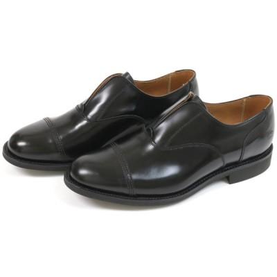 サンダース ノーレースシュー ブラック (Sanders #1742 No Lace Shoe Black)