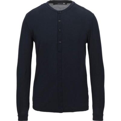ディクタット DIKTAT メンズ Tシャツ トップス T-Shirt Dark blue