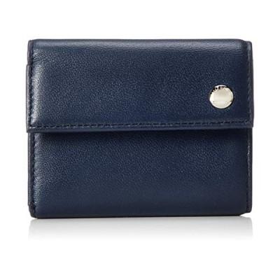 タケオキクチ ムスク小物 BOX型小銭入れ付き 三つ折り財布 744604 コン
