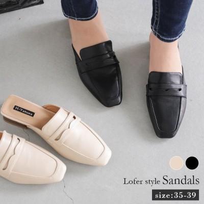 ミュール サンダル レディース おしゃれ 可愛い 靴 シューズ wm-520