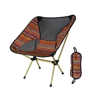 Ultralight Portable Folding Camping Chairs Compact Heavy Duty Fishing Stool Chair for Outdoor Camp Travel Beach Picnic Hiking