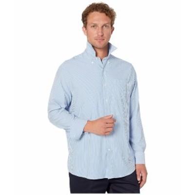 サウザーンタイド メンズ シャツ トップス Bengal Stripe Intercoastal Performance Sport Shirt Cobalt Blue