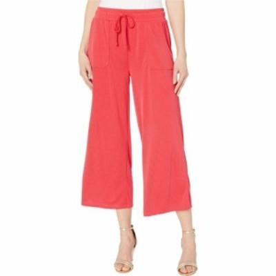 フレッシュプロデュース Fresh Produce レディース クロップド ボトムス・パンツ Jetsetter Capri Pants in Stretchy Modal Rib Vibrant