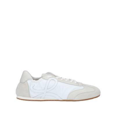 ロエベ LOEWE スニーカー&テニスシューズ(ローカット) ホワイト 43 革 / 紡績繊維 スニーカー&テニスシューズ(ローカット)