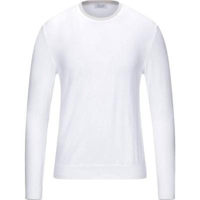 ヘリテイジ HERITAGE メンズ ニット・セーター トップス Sweater White